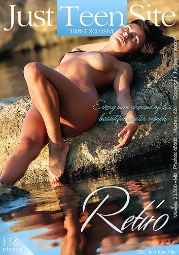 Anita - `Retiro` - by Davy Moor for JUSTTEENSITE