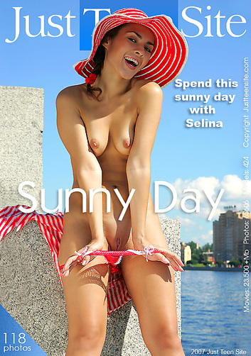 Selina - `Sunny Day` - by Alexander Fedorov for JUSTTEENSITE