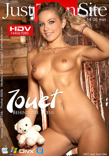 Jenni - `Jouet` - by Michele Saten for JUSTTEENSITE