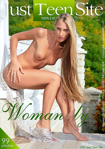 Anastasiya - `Womanly` - by Davy Moor for JUSTTEENSITE