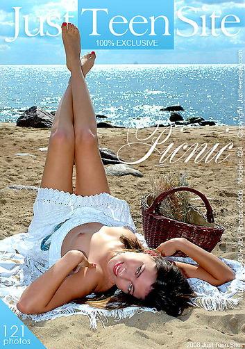 Kristina - `Picnic` - by Andrzej Granovski for JUSTTEENSITE
