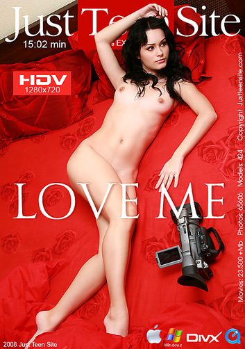 Liza - `Love me` - by Davy Moor for JUSTTEENSITE
