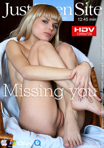 Alisa - `Missing you` - by Davy Moor for JUSTTEENSITE