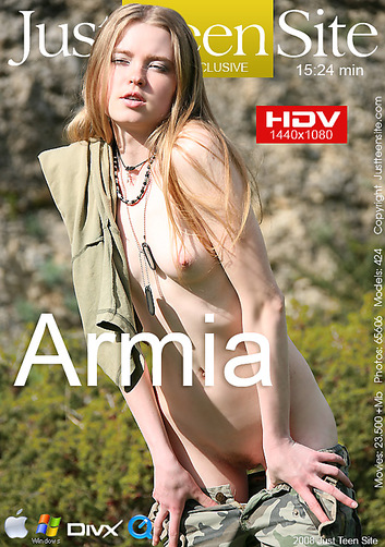 Tanya - `Armia` - by Davy Moor for JUSTTEENSITE