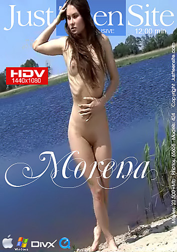 Alena - `Morena` - by Davy Moor for JUSTTEENSITE