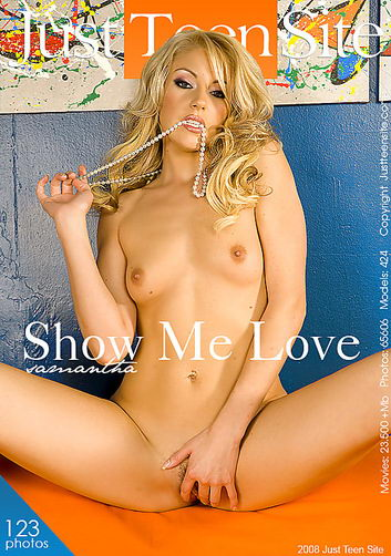 Samantha - `Show Me Love` - by Chris Klar for JUSTTEENSITE