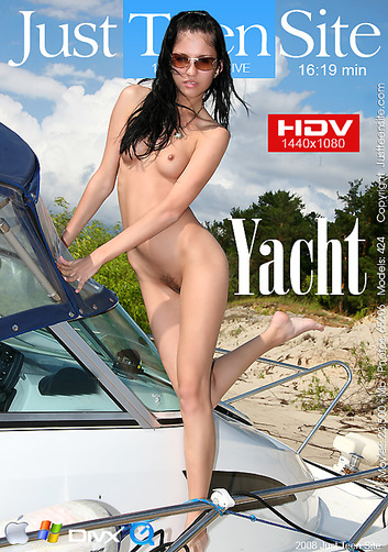 Yuliya - `Yacht` - by Davy Moor for JUSTTEENSITE