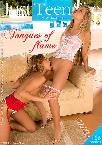 Vanesa & Zoe - `Tongues of flame` - by Michele Saten for JUSTTEENSITE