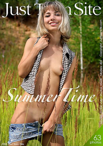 Natali - `Summer Time` - for JUSTTEENSITE