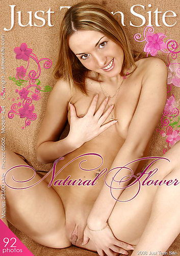 Anja - `Natural Flower` - by Kirill Svetlov for JUSTTEENSITE