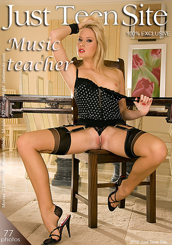 Denny - `Music Teacher` - by Alex Boxer for JUSTTEENSITE