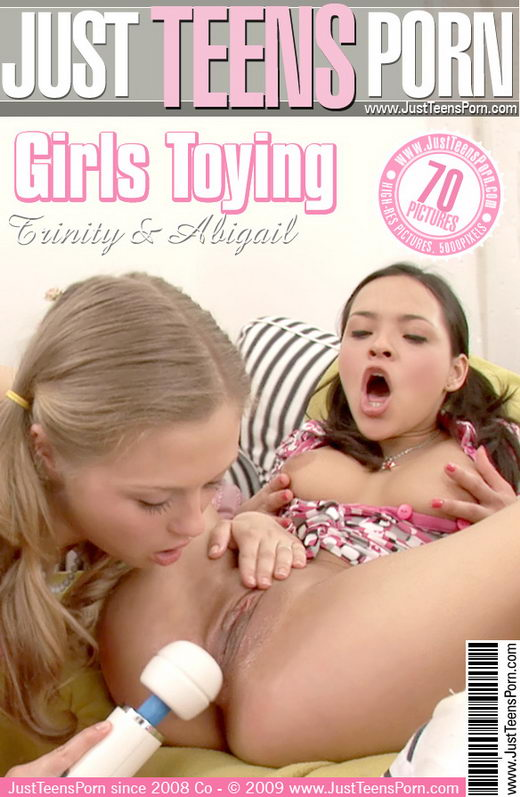 Trinity & Abigail - `Girls Toying` - for JUSTTEENSPORN