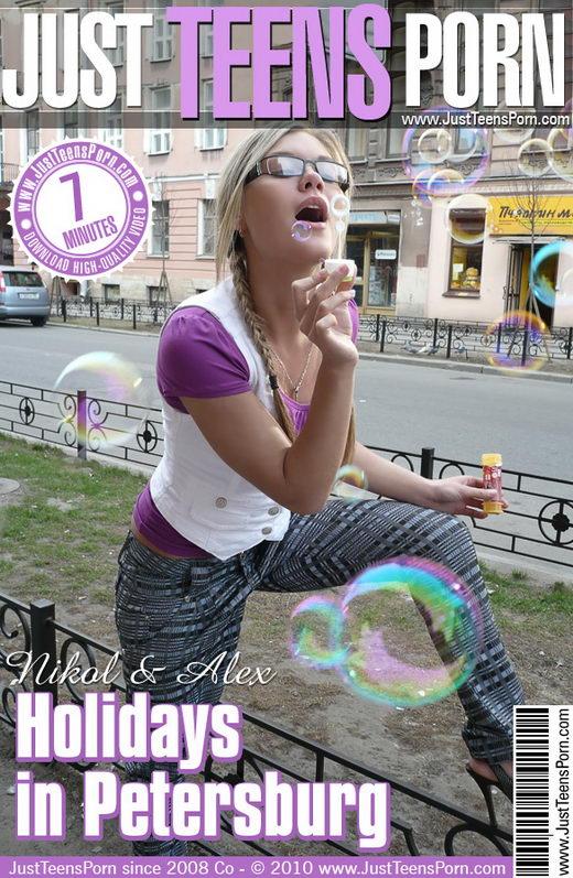 Nikol - `Holidays in Petersburg Video` - for JUSTTEENSPORN