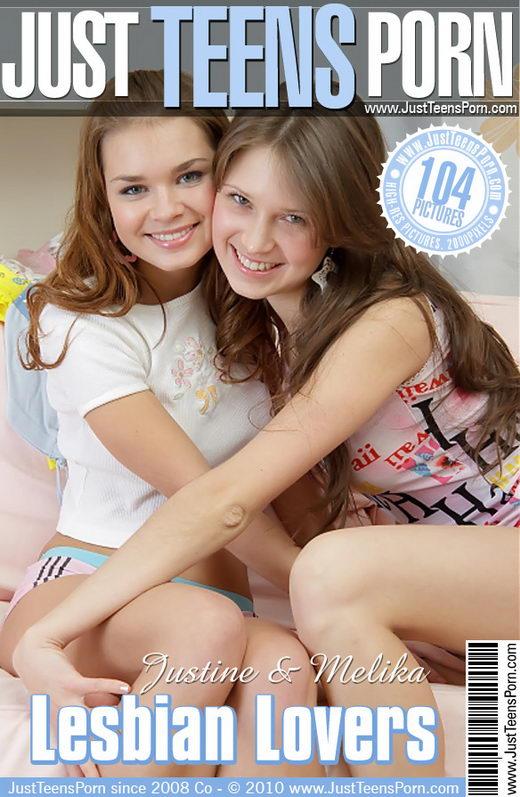 Justine & Melika - `Lesbian Lovers` - for JUSTTEENSPORN