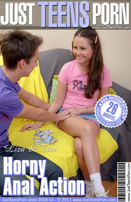 Liza - `Horny Anal Action` - for JUSTTEENSPORN