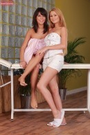Antonia and Melanie