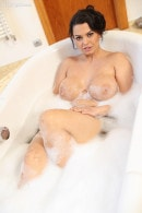 Chloe Lamoure in Peeper Pumps A Busty Bather gallery from KARUPSPC