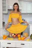 Melena Maria in Tickle My Citrus gallery from KARUPSPC