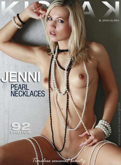 Jenni - `Pearl Necklaces` - by Delro for KISSAK