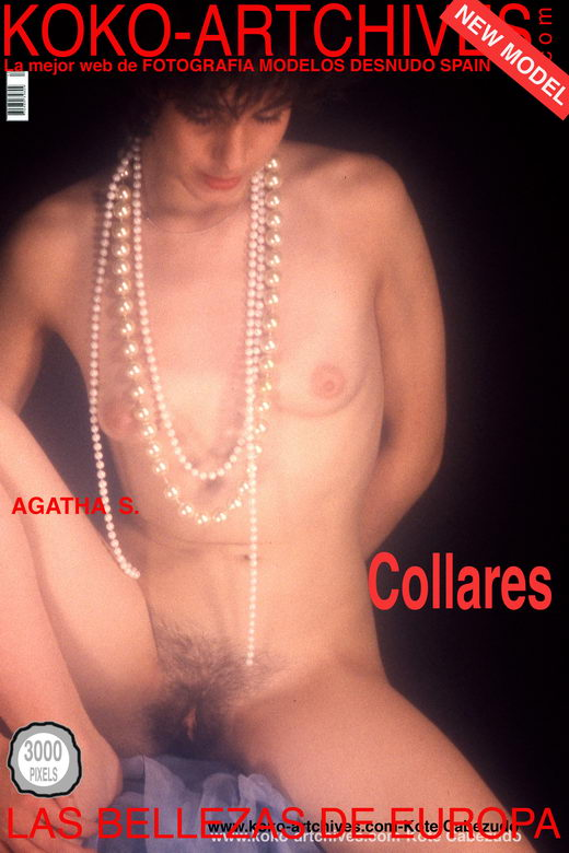 Agatha S - `Collares` - by Kote Cabezudo for KOKO ARCHIVES