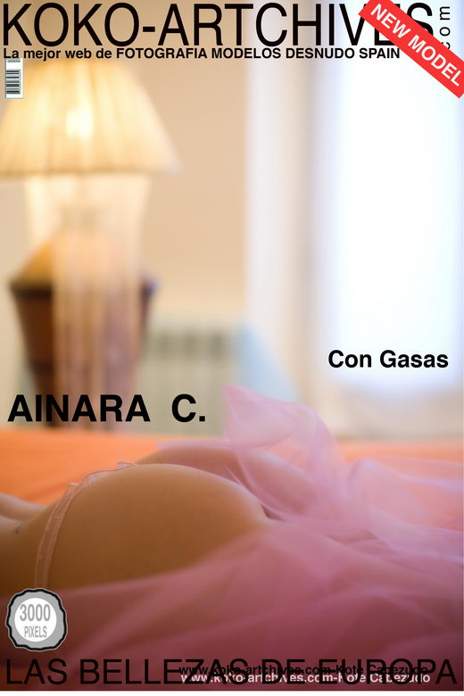 Ainara C - `Con Gasas` - by Kote Cabezudo for KOKO ARCHIVES