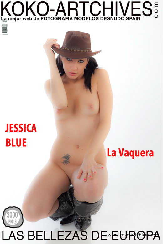Jessica Blue - `La Vaquera` - by Kote Cabezudo for KOKO ARCHIVES