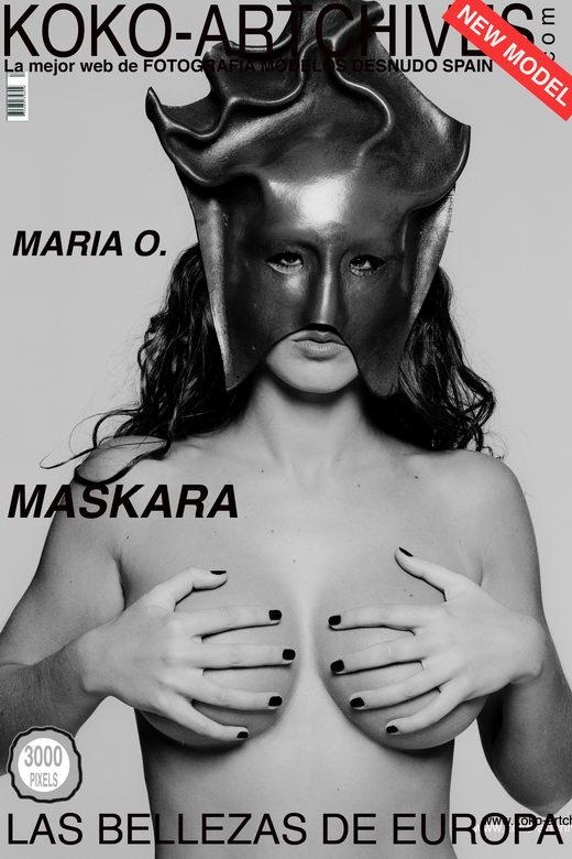 Mario O - `Maskara` - by Kote Cabezudo for KOKO ARCHIVES