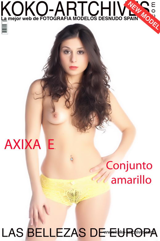 Axixa E - `Conjunto amarillo` - by Kote Cabezudo for KOKO ARCHIVES