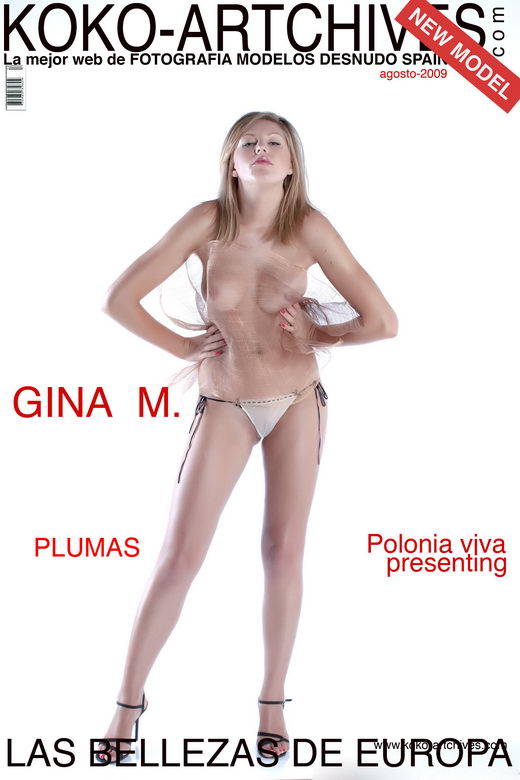 Gina M - `Plumas` - by Kote Cabezudo for KOKO ARCHIVES