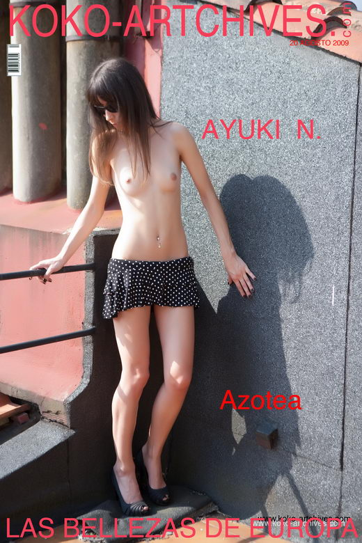 Ayuki N - `Azotea` - by Kote Cabezudo for KOKO ARCHIVES