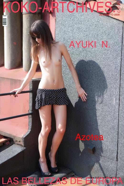 Ayuki N - `Azotea` - by Kote Cabezudo for KOKO ARCHIVES
