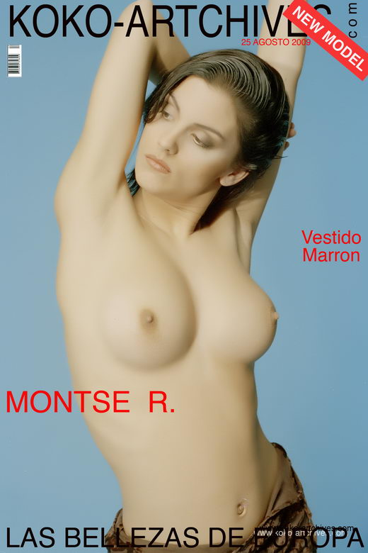 Montse R - `Vestido Marron` - by Kote Cabezudo for KOKO ARCHIVES