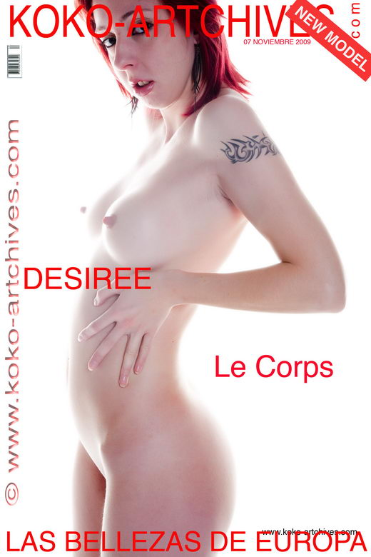 Desiree - `Le Corps` - by Kote Cabezudo for KOKO ARCHIVES