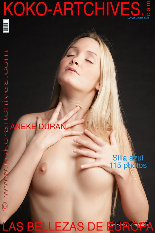 Aneke Duran - `Silla azul` - by Kote Cabezudo for KOKO ARCHIVES