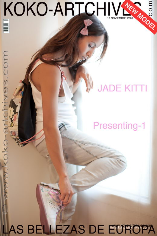 Jade Kitti - `Presenting 1` - by Kote Cabezudo for KOKO ARCHIVES