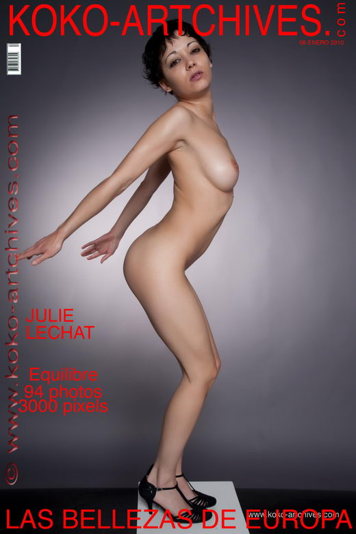 Julie Lechat - `Equilibre` - by Kote Cabezudo for KOKO ARCHIVES