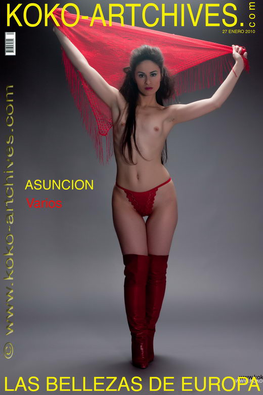 Asuncion M - `Varios` - by Kote Cabezudo for KOKO ARCHIVES