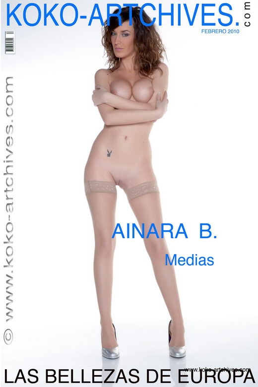 Ainara B - `Medias` - by Kote Cabezudo for KOKO ARCHIVES