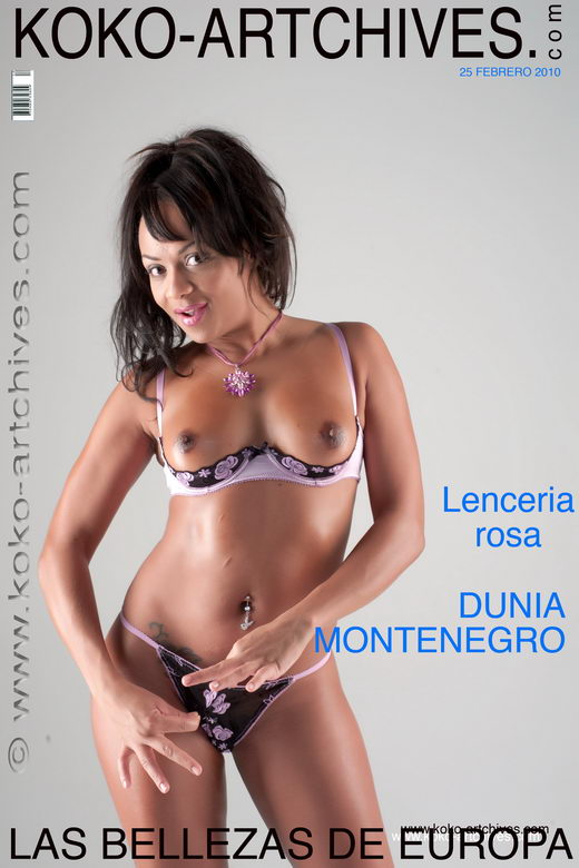 Dunia Montenegro - `Lenceria Rosa` - by Kote Cabezudo for KOKO ARCHIVES