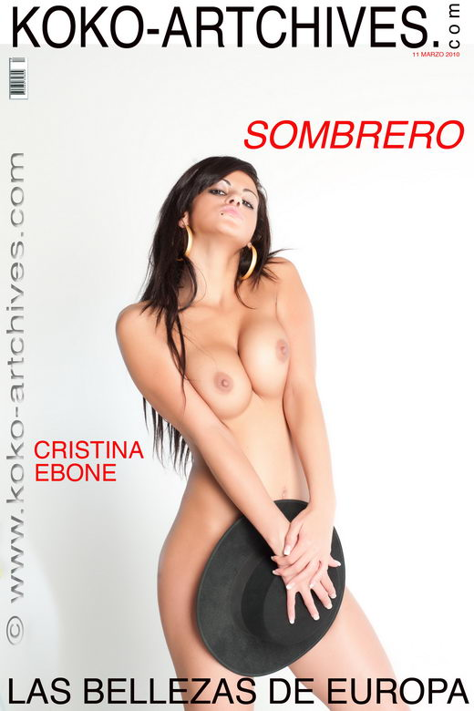 Cristina Ebone - `Sombrero` - by Kote Cabezudo for KOKO ARCHIVES