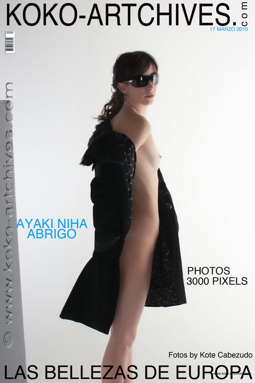 Ayaki Niha - `Abrigo` - by Kote Cabezudo for KOKO ARCHIVES