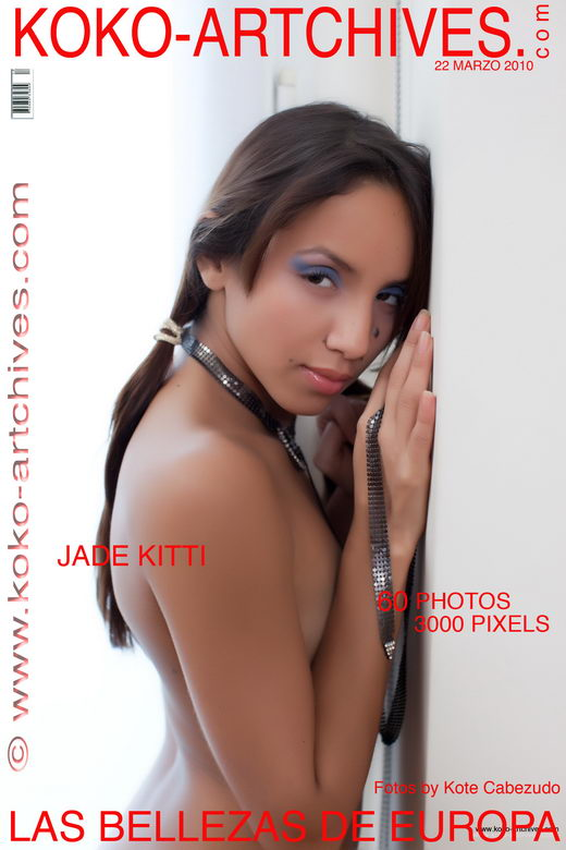 Jade Kitti - `Apoyada` - by Kote Cabezudo for KOKO ARCHIVES