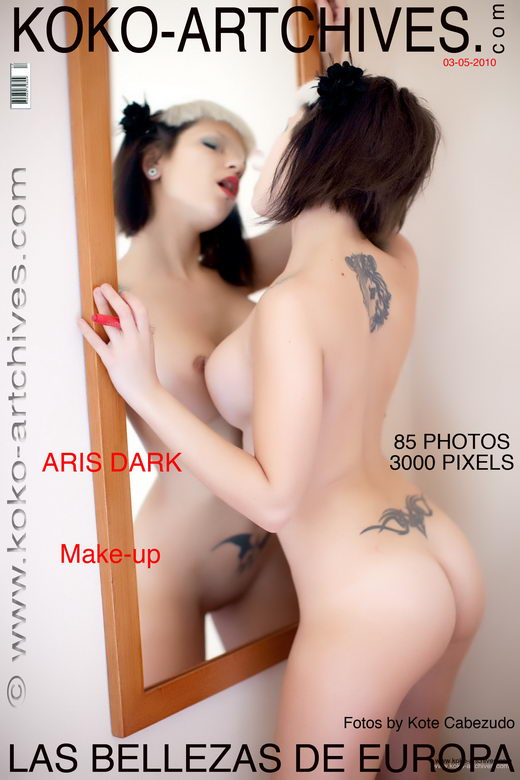 Aris Dark - `Make-up` - by Kote Cabezudo for KOKO ARCHIVES