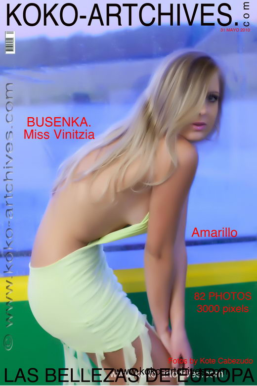 Busenka - `Amarillo` - by Kote Cabezudo for KOKO ARCHIVES