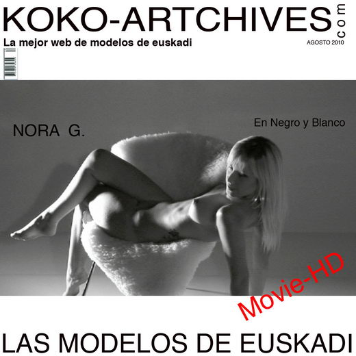 Nora G - `En Negro y Blanco` - by Kote Cabezudo for KOKO ARCHIVES