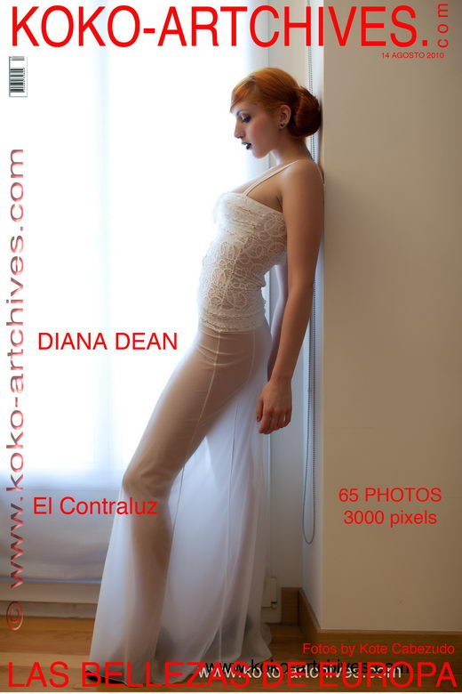 Diana Dean - `El Contraluz` - by Kote Cabezudo for KOKO ARCHIVES