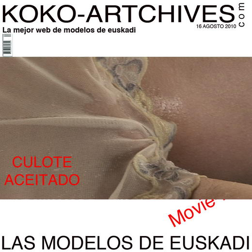 `Culote Aceitado` - by Kote Cabezudo for KOKO ARCHIVES