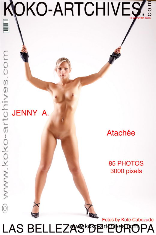 Jenny A - `Atachee` - by Kote Cabezudo for KOKO ARCHIVES