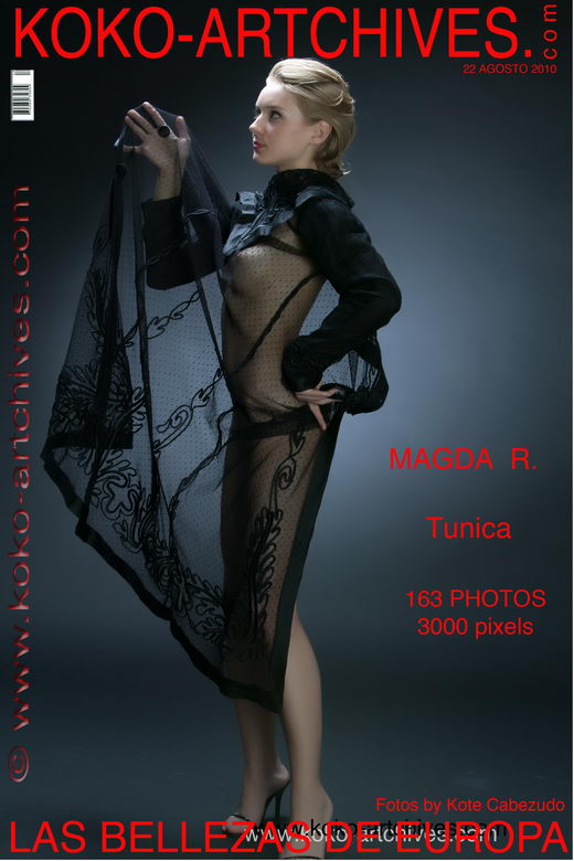 Magda R - `Tunica` - by Kote Cabezudo for KOKO ARCHIVES