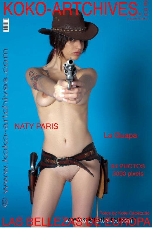 Naty Paris - `La Guapa` - by Kote Cabezudo for KOKO ARCHIVES